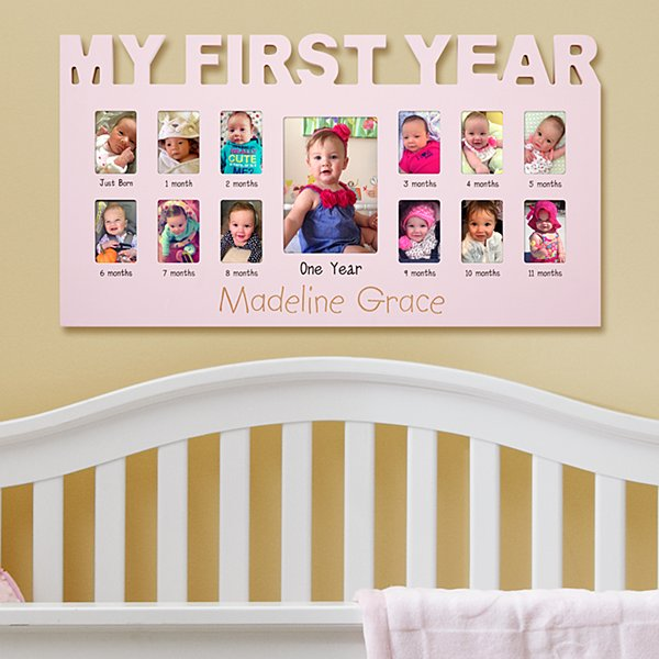 Baby's First 12 Months Frame