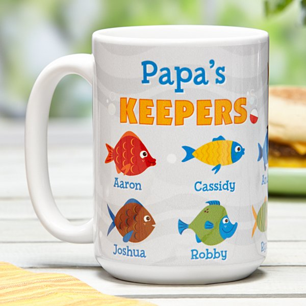 His Little Keepers Mug