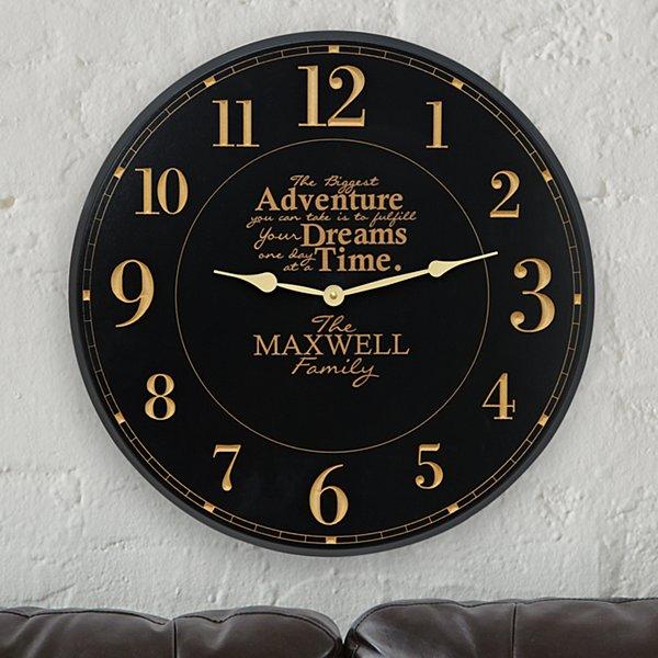 The Biggest Adventure Wall Clock