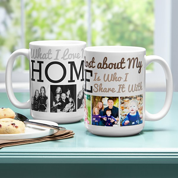 Heart of the Home Photo Mug