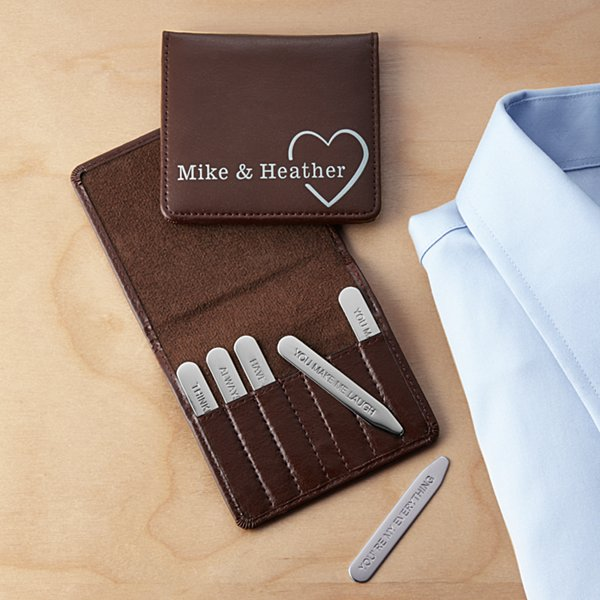 Hidden Love Message Collar Stays