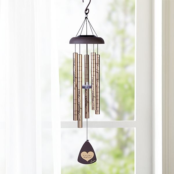 Your Light Shines Bright Solar Wind Chime