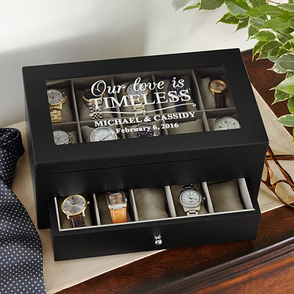 Love is Timeless 20 Watch Box