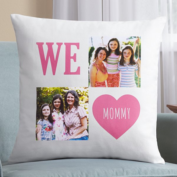 Filled With Love Photo Pillow