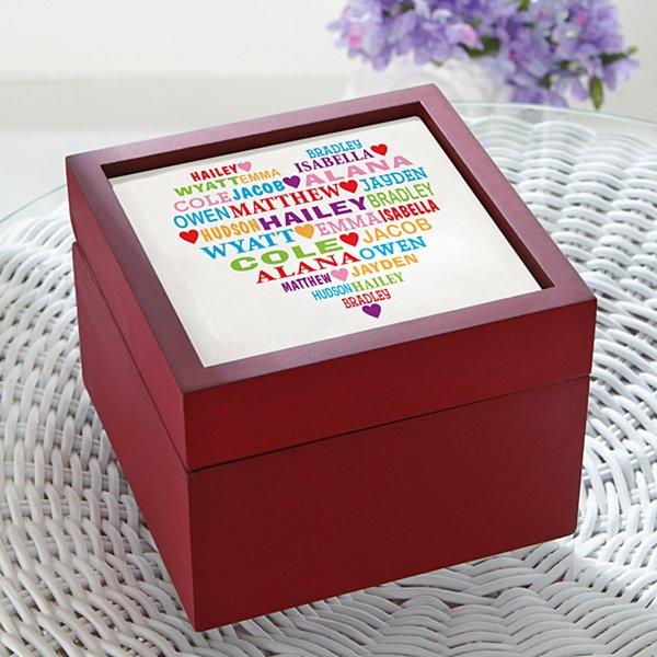 Heart Full of Love Keepsake Box