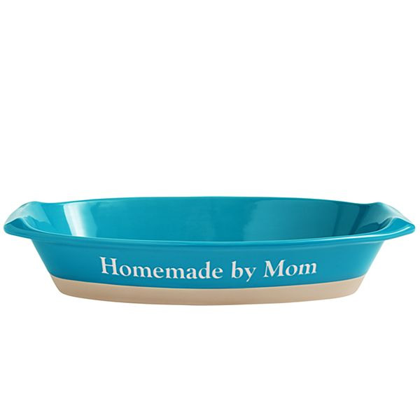 Ceramic Casserole Teal Baking Dish