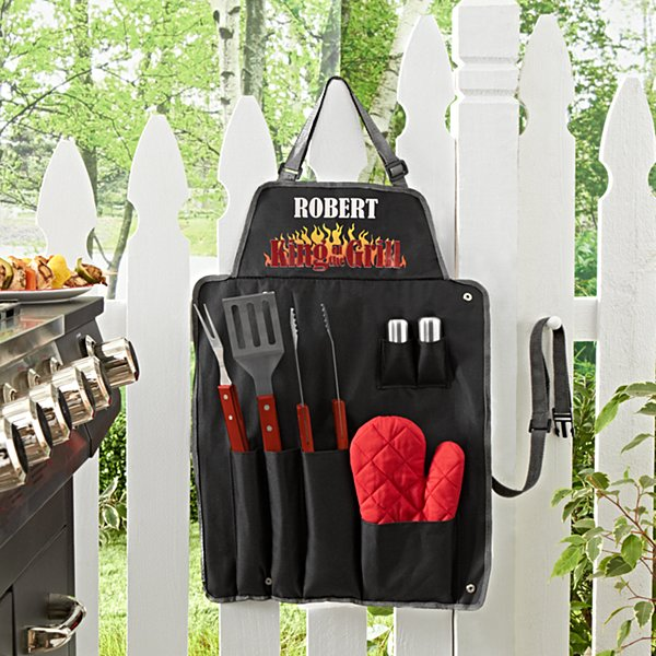 King of the Grill 7 Piece BBQ Set