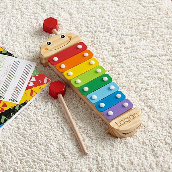Melissa & Doug® Caterpillar Xylophone