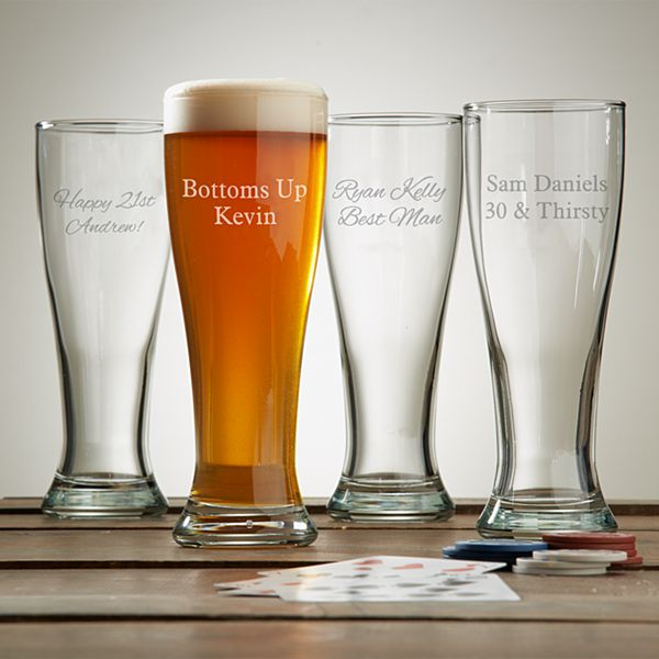 Create Your Own Pilsner Glass