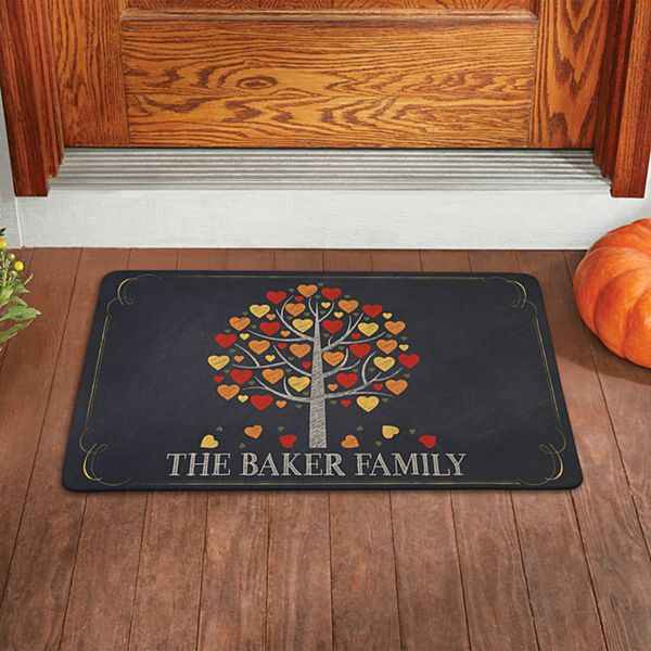 Falling Leaves Family Doormat