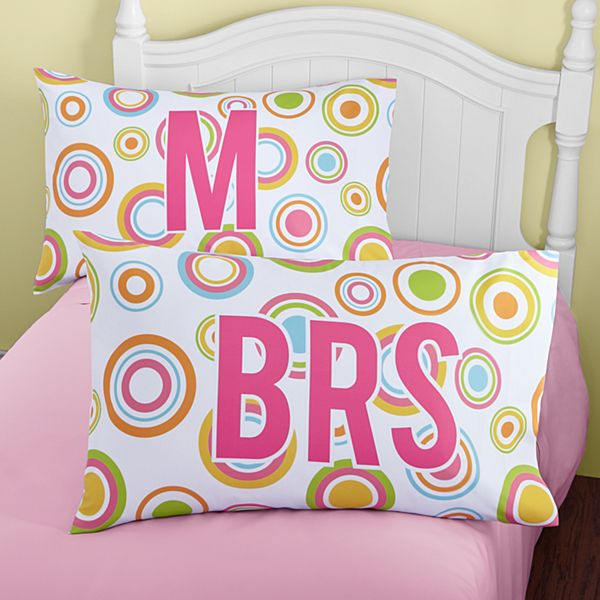 Circle Of Fun Pillowcase