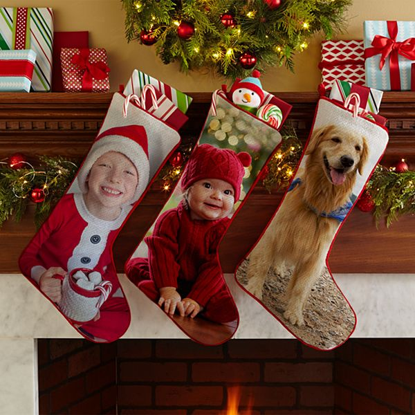 Picture Perfect Photo Personalized Stocking