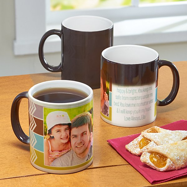Custom Message Photo Mug