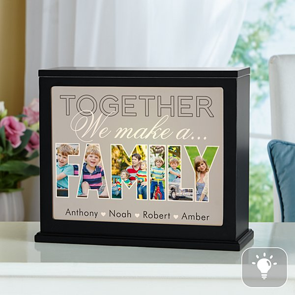 Together We Make A Family Photo Accent Light