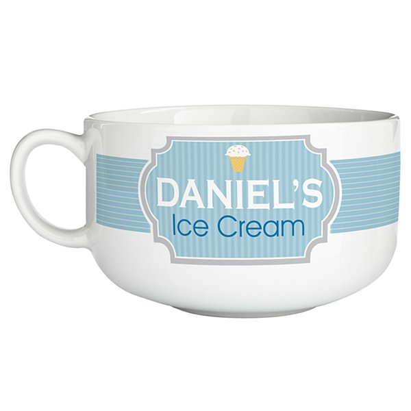 Ice Cream Bowl - Blue