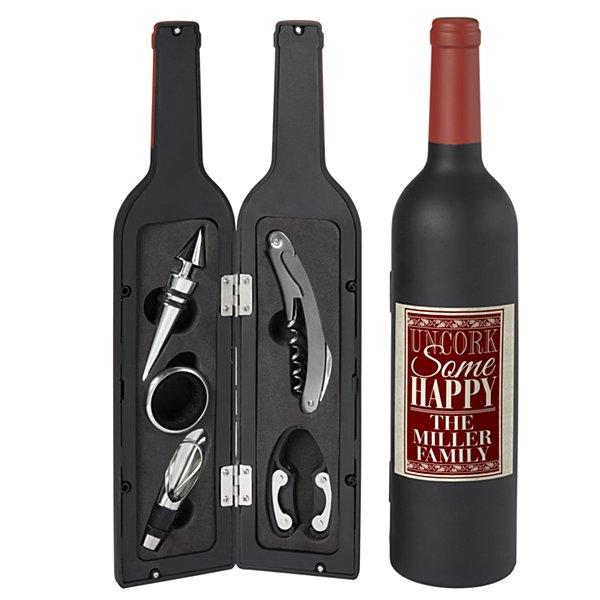 5 Piece Most Wonderful Wine Set - Burgundy