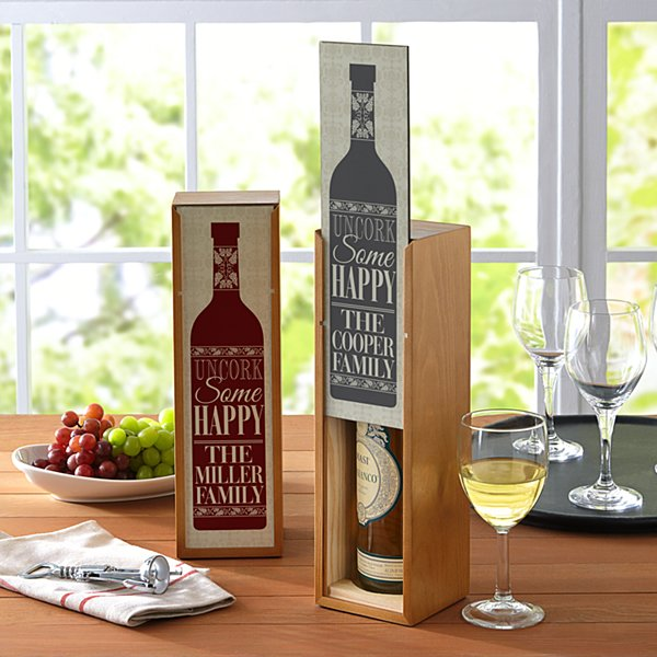 Uncork Some Happy Wine Box