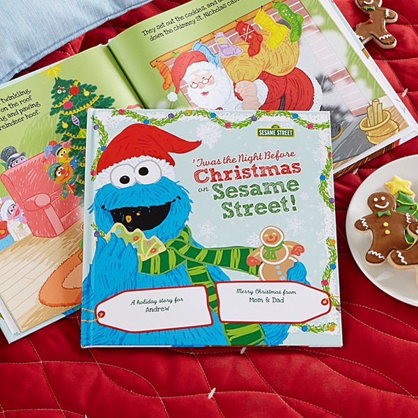 'Twas The Night Before Christmas On Sesame Street Book