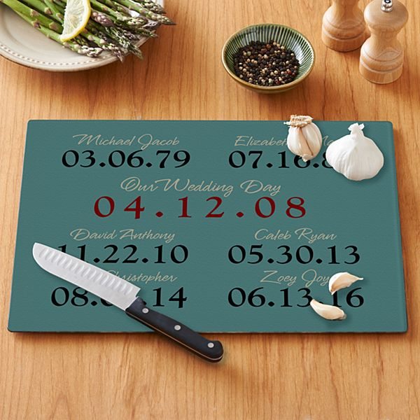 What a Difference a Day Makes Cutting Board