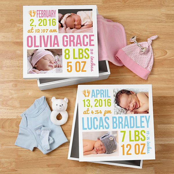 Bundle of Love Photo Keepsake Box