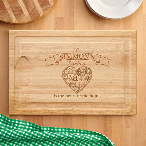 Heart of the Home Wood Cutting Board