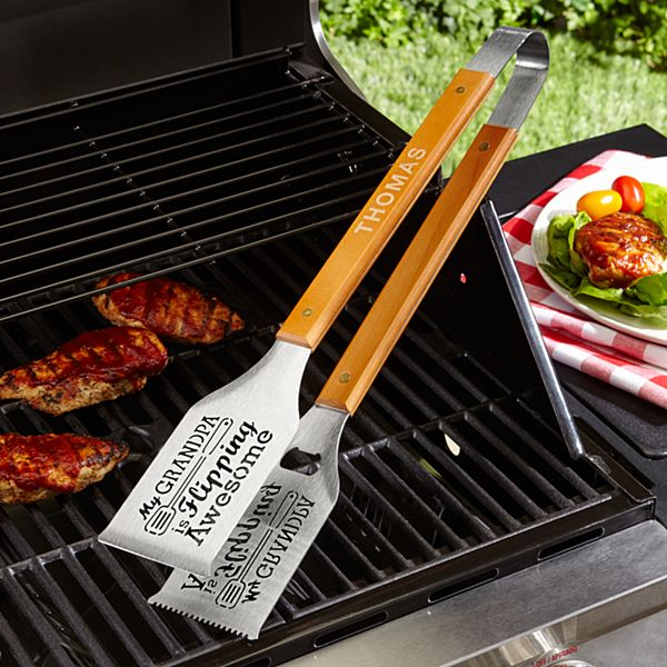 Flipping Awesome Grill-a-Tongs