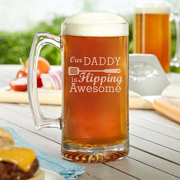 Flipping Awesome Oversized Beer Mug