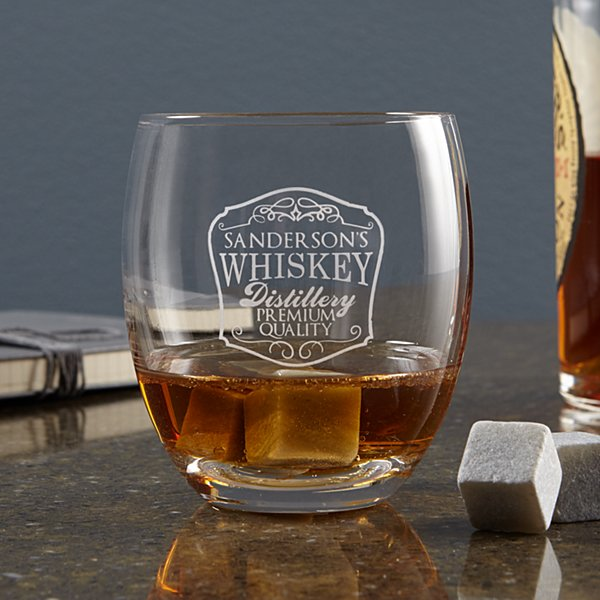 On the Rocks Whiskey Stone Glass