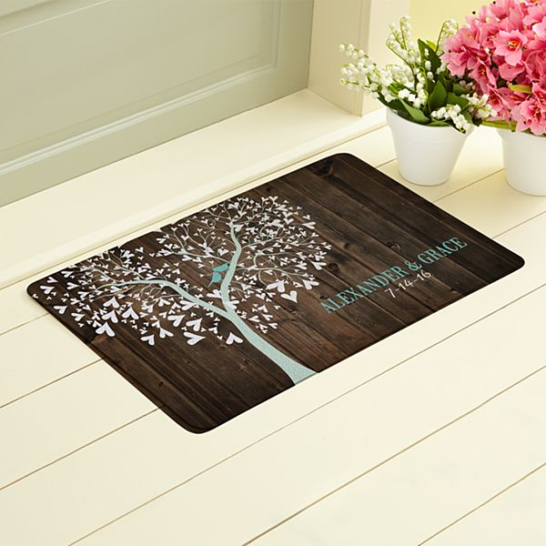 Sweet Lovebirds Doormat