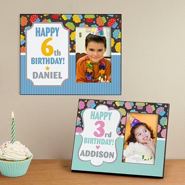 Lil' Cupcake Birthday Frame