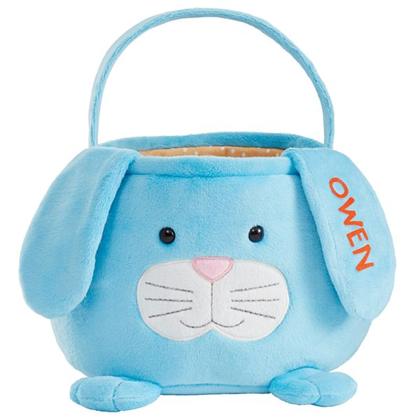 Furry Friend Easter Basket - Blue Bunny