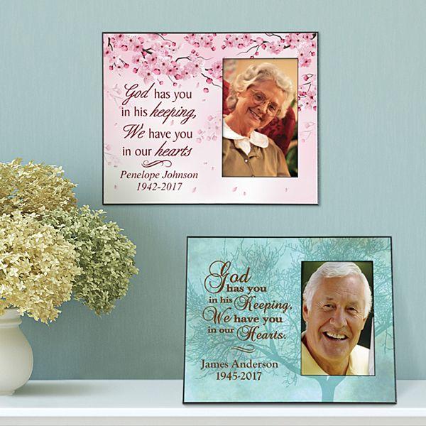 Heartfelt Memories Sympathy Frame
