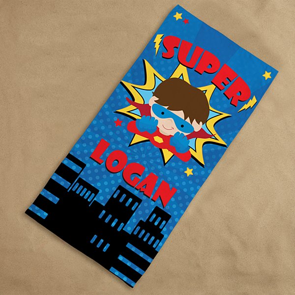 Superhero Beach Towel