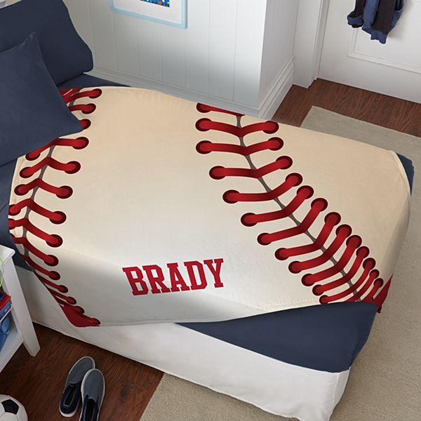 Sports Icon Plush Blanket