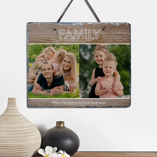 Message Of Love Photo Slate