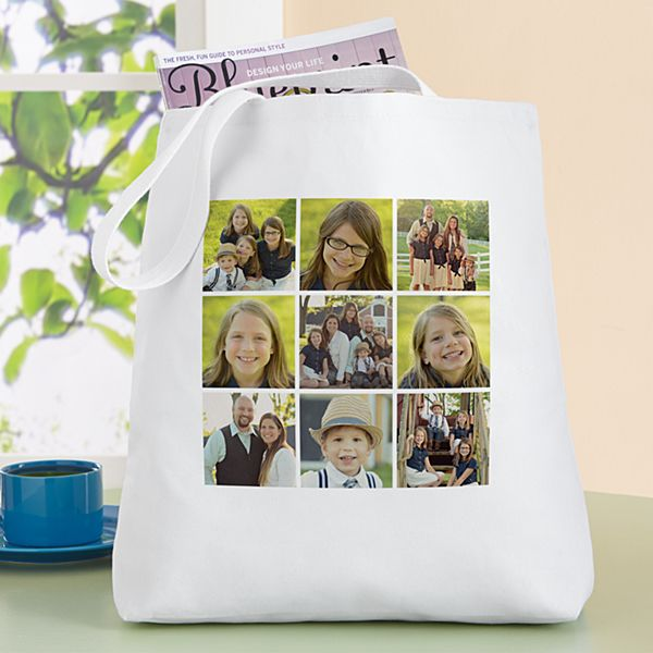 Photo Tile Tote