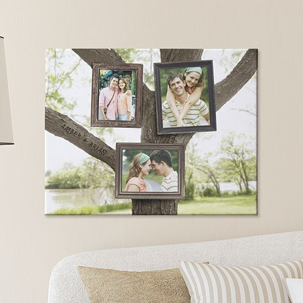 Photo Tree Canvas