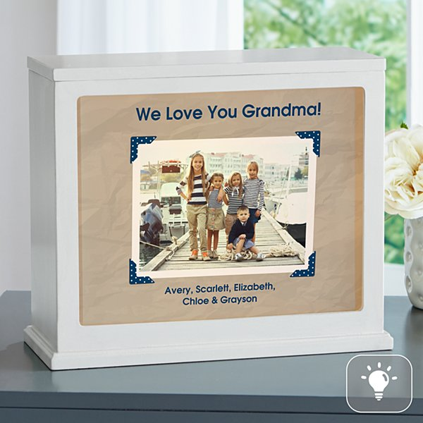 Vintage Photo Message Accent Light