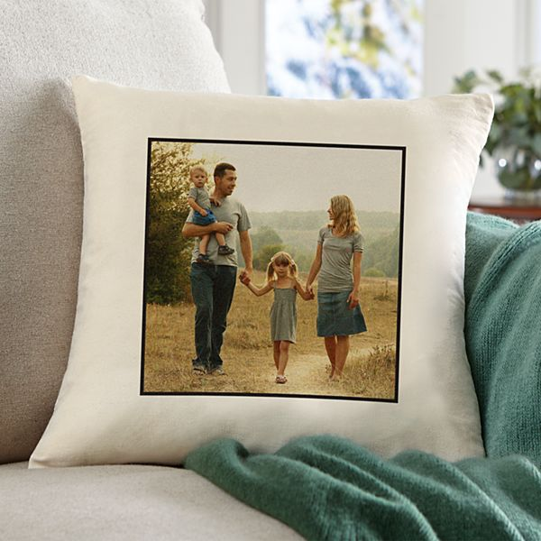 Photo Accent Throw Pillow