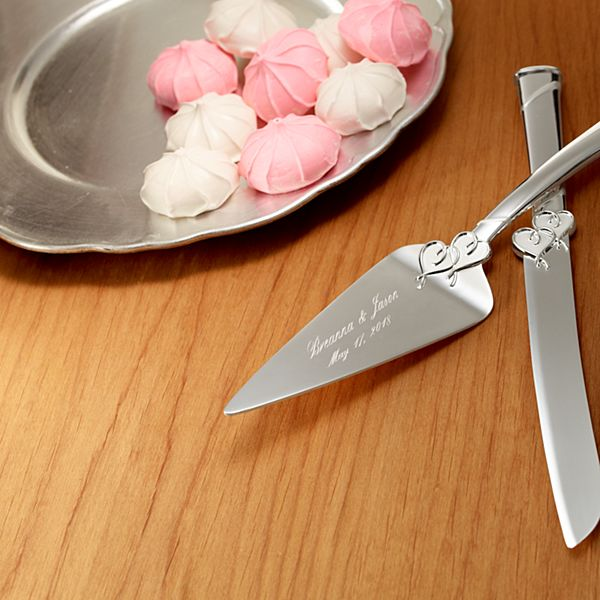 Lenox True Love Cake Server and Knife Set