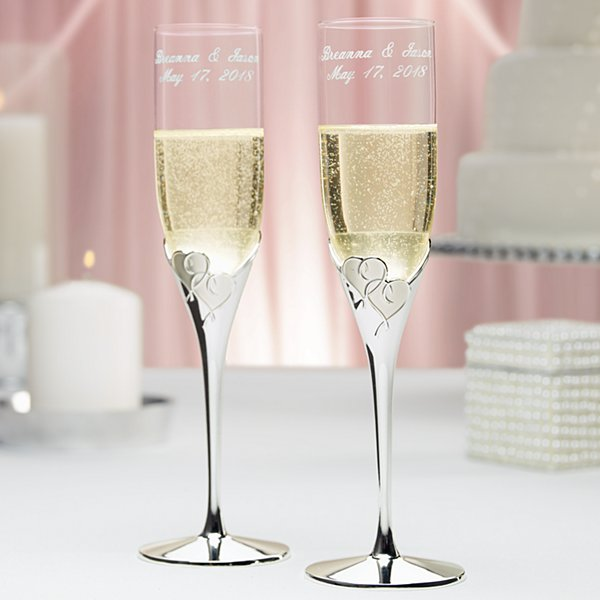 Lenox True Love Flutes