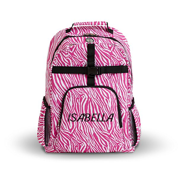 Playful Print Zebra Backpack Collection