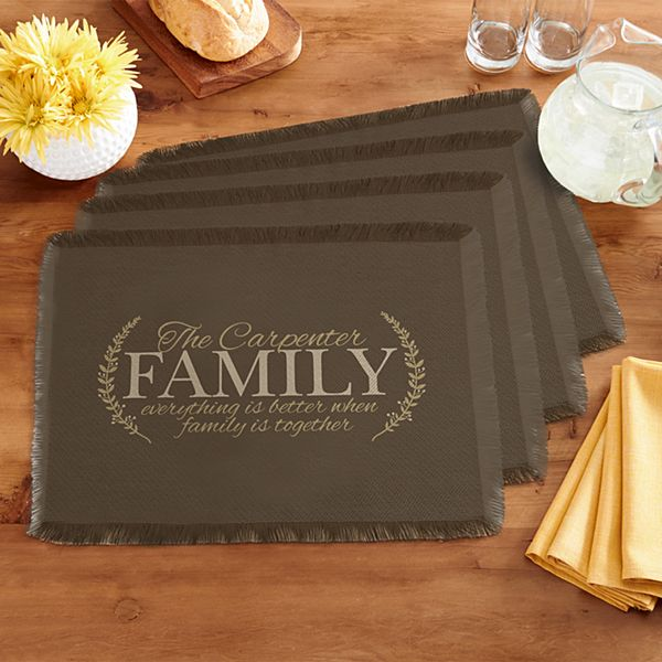 Better Together Placemats