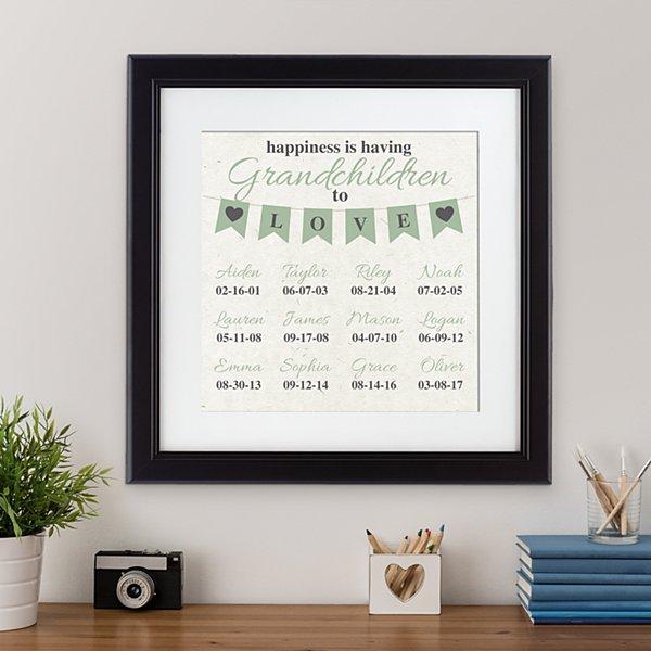 A Grandparents Love Framed Print