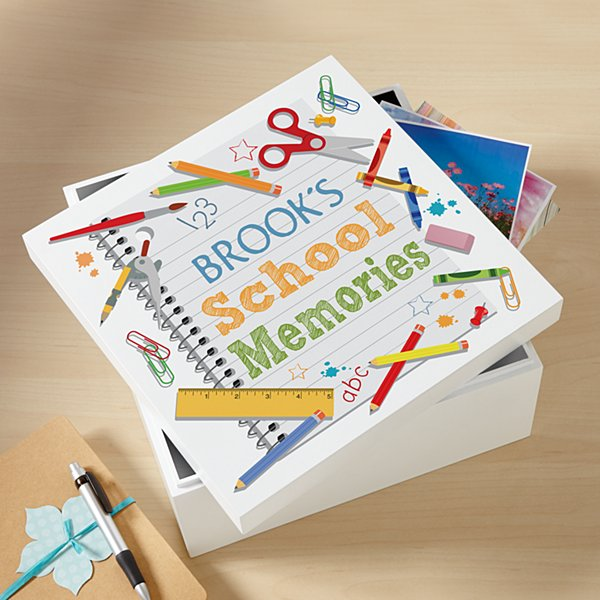 School Years Keepsake Box