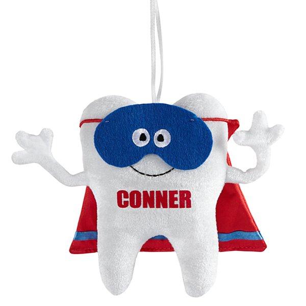 Tooth Superhero Pillow