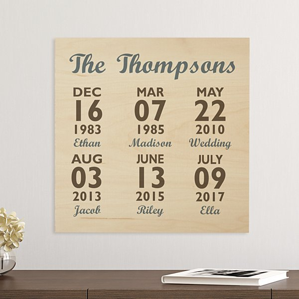 Our Best Days Wooden Plaque