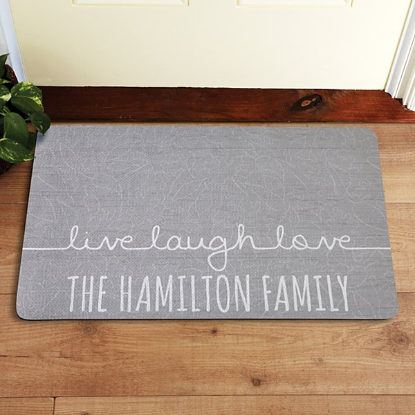 Scripted Live, Laugh, Love Doormat