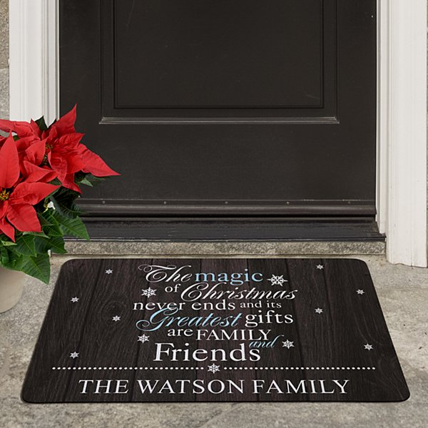The Magic of Christmas Doormat