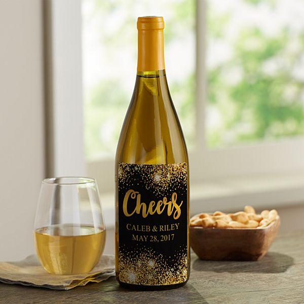 Celebration Custom Wine Labels (Set of 4)